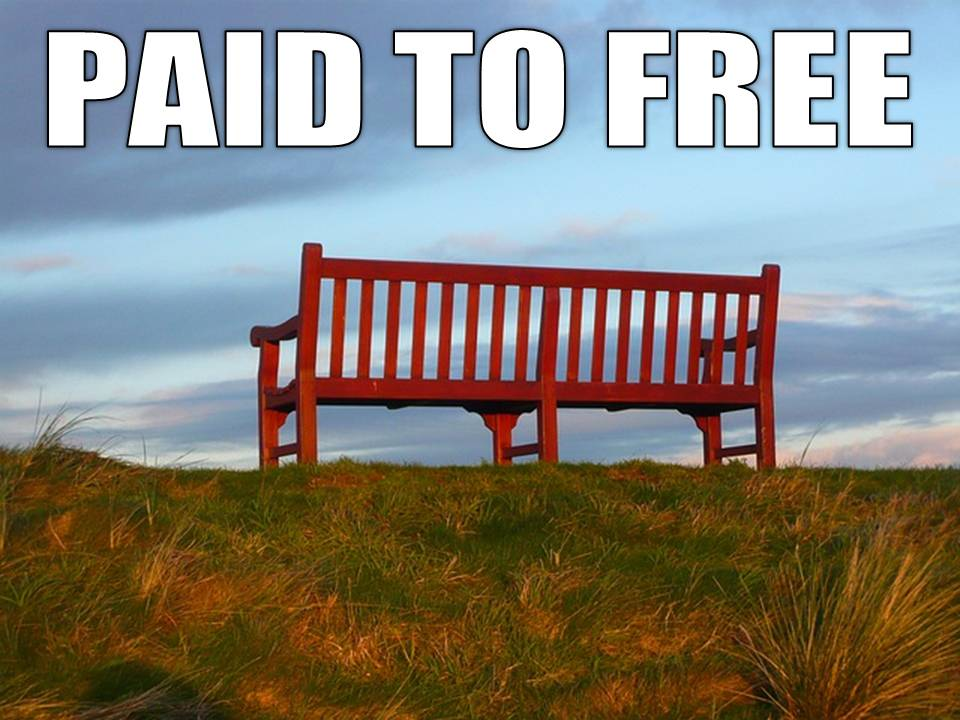 paid to free