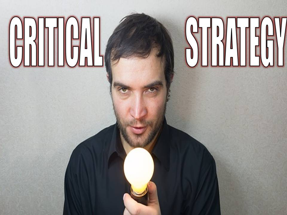 Critical strategy by Billy Darr for Instagram